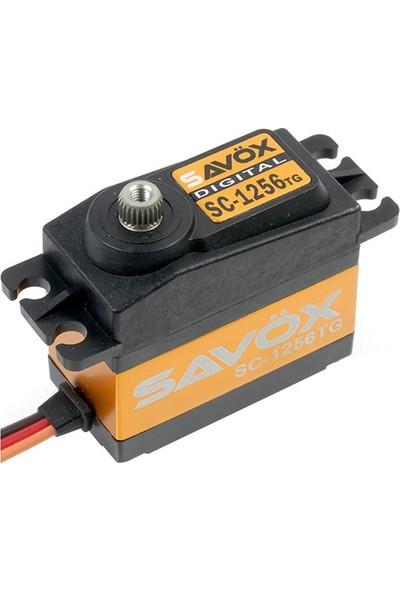 SAVOX - SC-1256TG Yüksek Tork Titanyum Dişli Dijital Servo