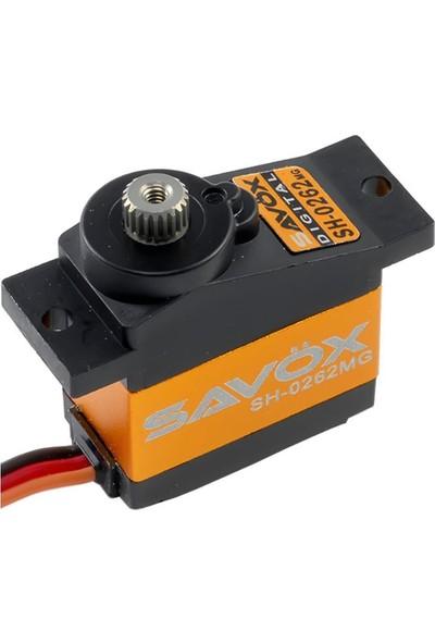 SAVOX - SH-0262MG DC Motor Metal Dişli Dijital Servo