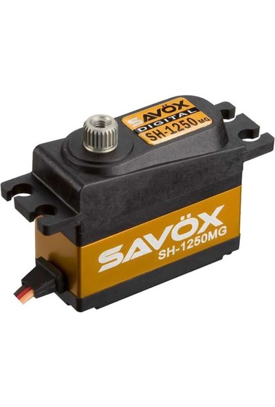 SAVOX - SH-1250MG Çekirdeksiz Motor Metal Dişli Dijital Servo