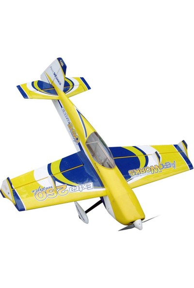 "AEROWORKS - 52"" FreeStyle260 Sarı ARF-QB-Light Model Uçak"