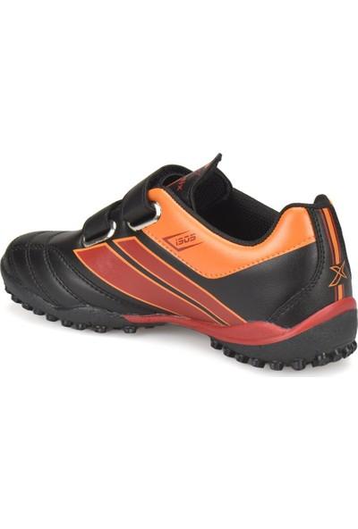 Gs Trım J Turf Gs Siyah Kırmızı Erkek Çocuk Halı Saha Ayakkabısı