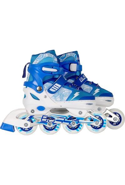Busso Raider Skates Alüminyum Mavi Paten YX-0151P-05