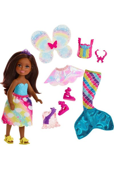 Barbie Barbie Dreamtopia Chelsea Ve Kıyafetleri Fjd01