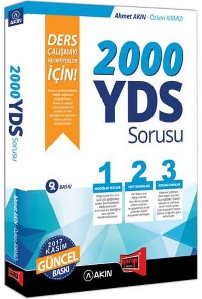 Akın Dil & Yargı Yayınları 2000 Yds Sorusu Ders Çalışmayı Sevmeyenler İçin 9. Baskı - Ahmet Akın