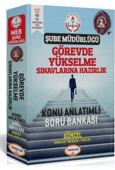 Yediiklim Yayınları Şube Müdürlüğü Görevde Yükselme Sınavlarına Hazırlık Konu Anlatımlı Soru Bankası