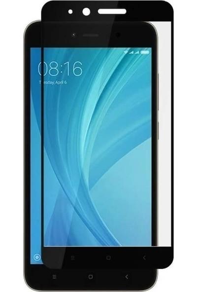 Teleplus Xiaomi Redmi Note 5A Tam Kapatan Cam Ekran Koruyucu Siyah