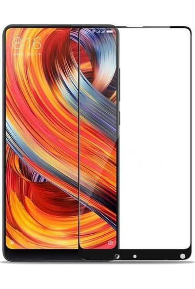 Teleplus Xiaomi Mi Mix 2 Tam Kapatan Cam Ekran Koruyucu Siyah