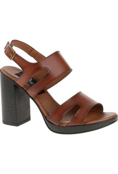 Derigo 52010 Kadın Ayakkabı Taba