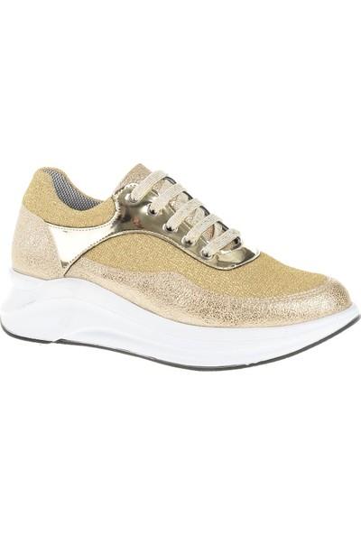 Derigo 22486 Kadın Ayakkabı Altın