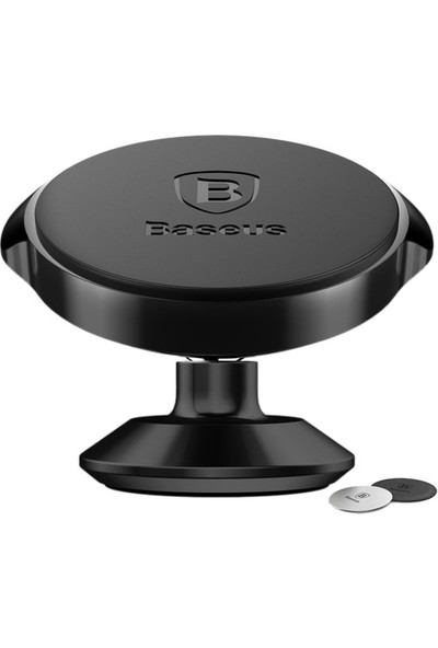 Baseus Small Ears Series Magnetic Bracket Araç İçi Telefon Tutucu Dikey Tip Suer B01