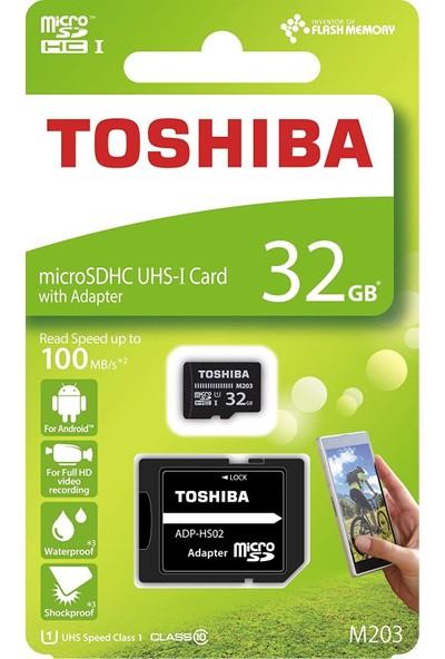 Toshiba 32Gb 100Mb/Sn Microsdhc™ Uhs-1 Class10 Excerıa Thn-M203K0320Ea