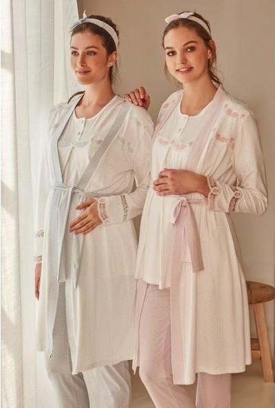 Feyza Lohusa 3'lü Pijama Takım
