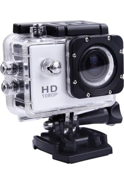 Gringo Ae 720P Hd 2.0 Lcd Ekranlı Waterproof Aksiyon Kamera