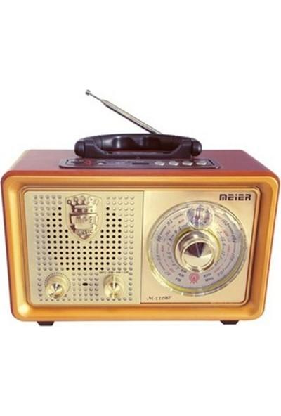 Gringo M110Bt Usb,Sd,Mp3,Bluetooth Şarjlı Nostaljik Radyo