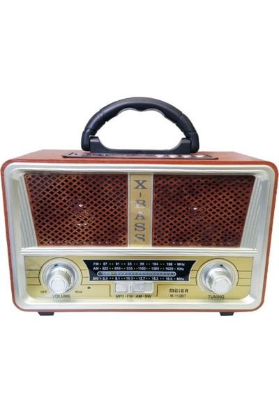 Gringo M112Bt Usb,Sd,Mp3,Bluetooth Şarjlı Nostaljik Radyo