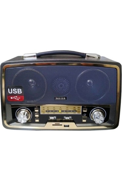 Gringo Md1701Bt Bluetooth Usb Sd Fm Nostaljik Görünümlü Radyo