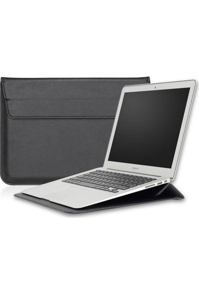 "Macstorey Apple Macbook Deri Kese Kılıf Stand Çanta 15"" 15.4"" 1058"