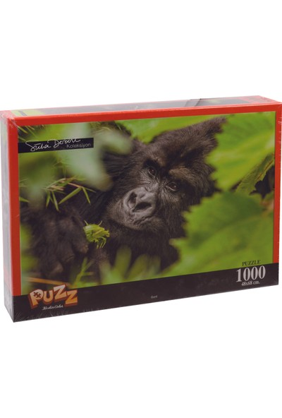 Puzz K.Color 68*48 1000 li Yapboz Goril (Süha Derbent)