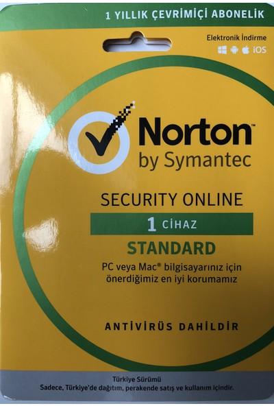 Symantec Norton Security Online Standard 1 Cihaz
