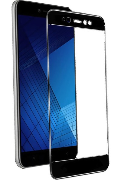 Microcase Xiaomi Redmi Note 5A / 5A Prime Flexible Çerçeveli Esnek Cam