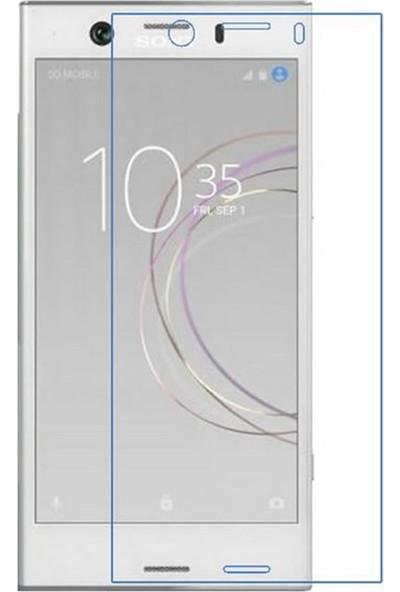Microcase Sony Xperia XZ1 Nano Glass Esnek Cam Ekran Koruma