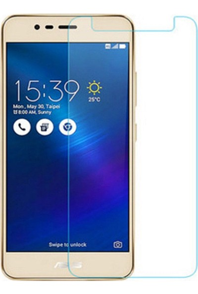Microcase Asus Zenfone 3 Max 5.5 İnch ZC553KL Tempered Glass Cam Koruma