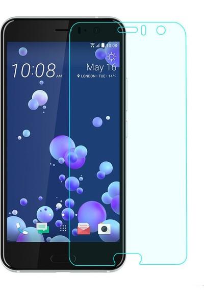 Microcase HTC U11 Tempered Glass Cam Ekran Koruma