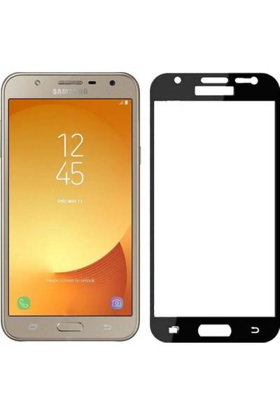 Microcase Samsung Galaxy J7 Core - J7 Next Tam Kaplayan Tempered Cam Koruma