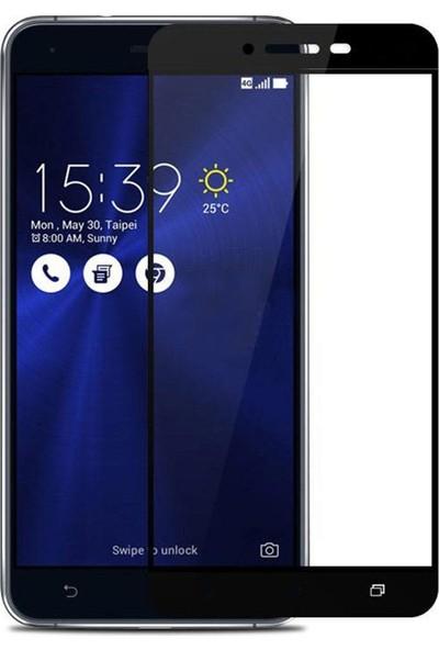 Microcase Asus Zenfone 3 Max ZC553KL 5.5 İnch Tam Kaplayan Tempered Cam Koruma