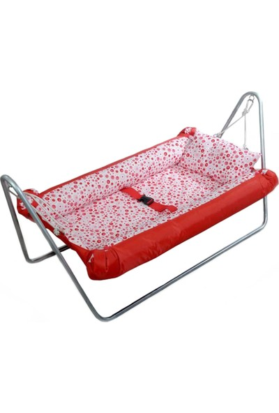 Svava Portatif Bebek Hamak Beşik (Kırmızı)