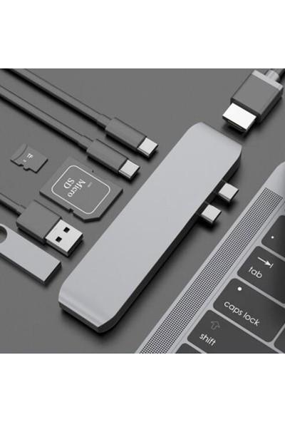 Markacase Type C Hub 4K Hdmı/Kart Okuyucu Ve 2 Usb 3.0