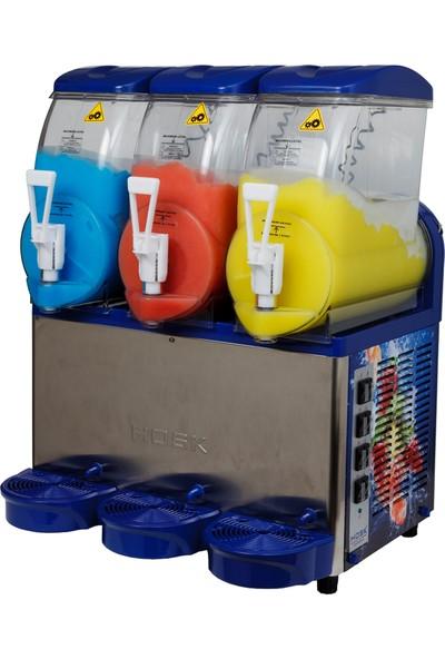 Teknoçelik 3Lü Buzlaş Makinası