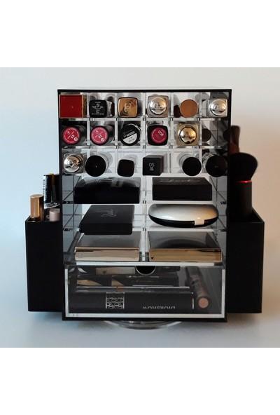 Binsekiz Florence Çekmeceli Akrilik Makyaj Kozmetik Düzenleyici Organizer