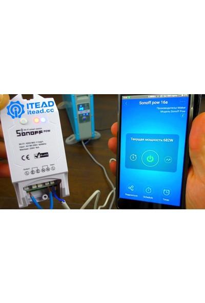 Sonoff Pow Güç Ölçerli Akıllı Anahtar Wifi