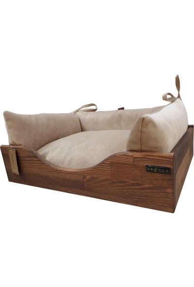 Bronza B-Wood Kedi-Köpek Yatağı