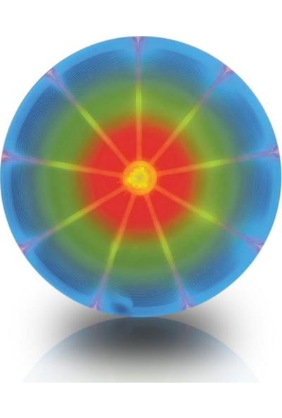Dog Discuit LED Işıklı Köpek Frizbisi / Köpek Oyuncağı -Disko