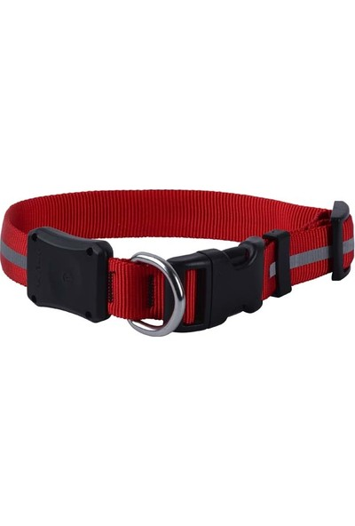 NiteDawg LED Dog Collar-MD-Red LED Işıklı Köpek Tasması