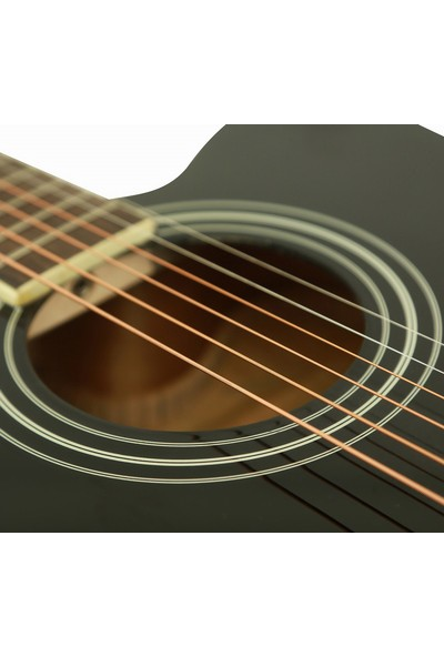 Segovia SGA41BK Cutaway Akustik Gitar