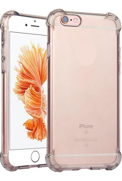 Case 4U iPhone 6 Plus Kılıf Nitro Darbe Emici Silikon Kılıf Şeffaf