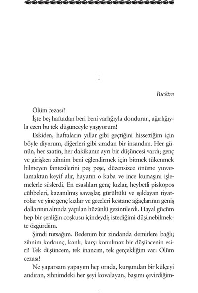 Bir İdam Mahkumunun Son Günü - Victor Hugo