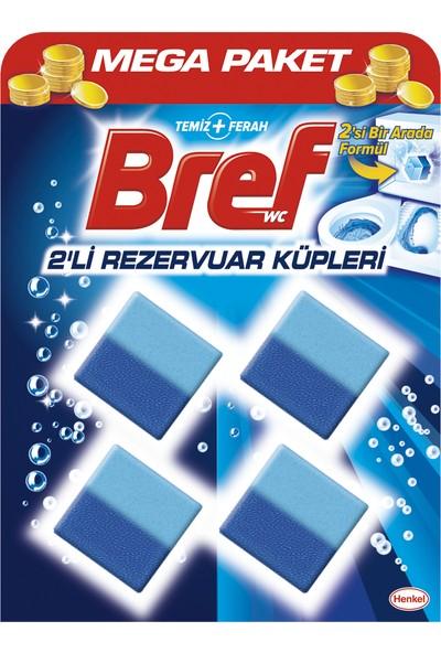 Bref WC Temizleme Küpü Aktif Rezervuar Blok 2'li Özel Paket