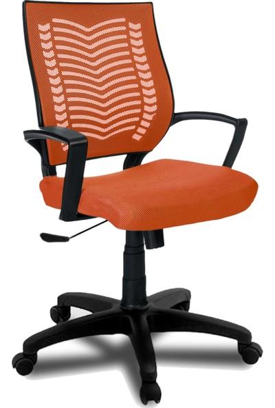 Büromotto Show Ofis Koltuğu, Bilgisayar ve Çalışma Sandalyesi - Turuncu