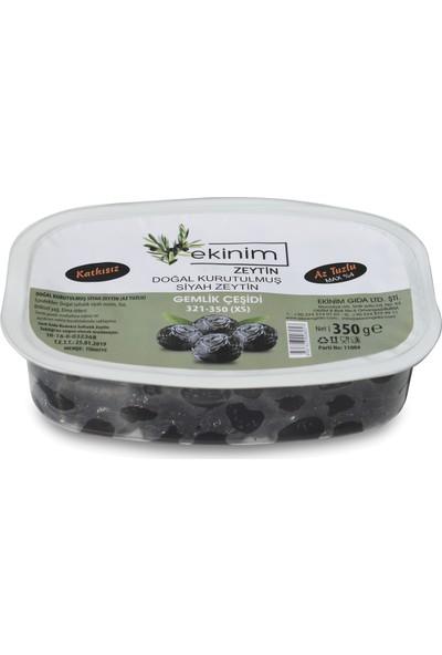 Ekinim Doğal Kurutulmuş Az Tuzlu Siyah Zeytin 350 gr