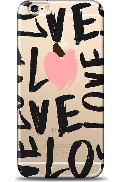 Eiroo Apple iPhone 6 / 6S Loves Baskılı Tasarım Kılıf