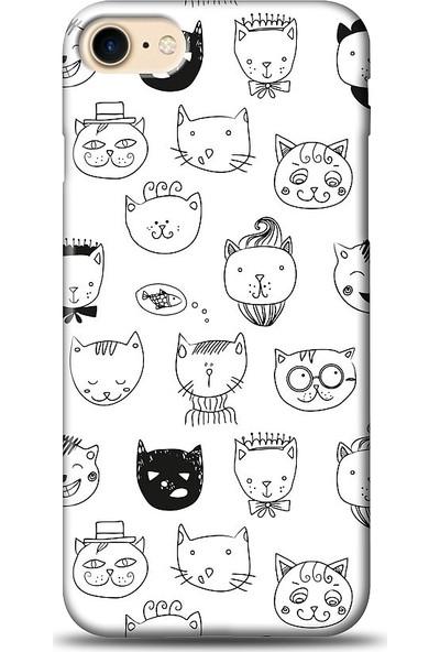 Eiroo Apple iPhone 7 Cats Kılıf