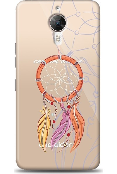 Eiroo General Mobile GM 5 Plus Dream Catcher Baskılı Tasarım Kılıf