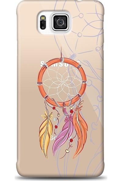 Eiroo Samsung Galaxy Alpha Dream Catcher Baskılı Tasarım Kılıf