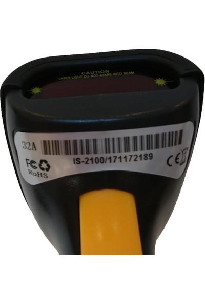 myPOS IS 2100 - USB Lazer El Barkod Okuyucu