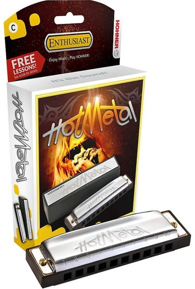 Hohner Hot Metal Mızıka (Do Majör)