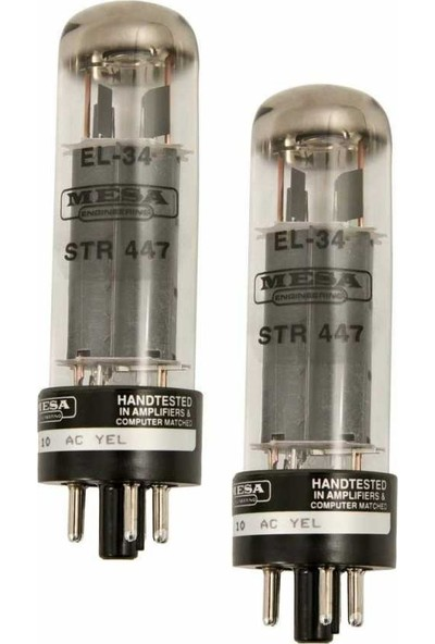 Mesa Boogie EL-34 STR 447 Ampli Lambası